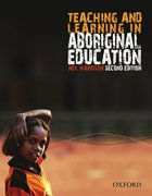 Cover for Teaching and Learning in Aboriginal Education, 2nd Edition