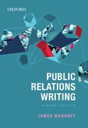 Cover for Public Relations Writing