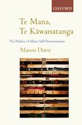 Cover for Te Mana Te K=awanatanga