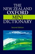 Cover for New Zealand Oxford Mini Dictionary
