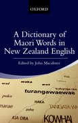 Cover for A Dictionary of Maori Words in New Zealand English