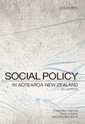 Cover for Social Policy in Aotearoa New Zealand