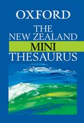 Cover for The New Zealand Oxford Mini Thesaurus