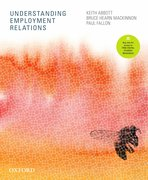 Cover for Understanding Employment Relations