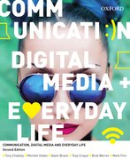 Cover for Communication, Digital Media and Everyday Life