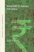 Cover for Monetary Planning for India