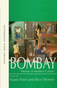 Cover for Bombay: Mosaic of Modern Culture