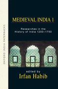Cover for Medieval India I