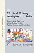 Cover for The Political Economy of Development in India