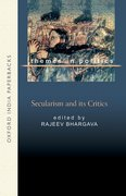 Cover for Secularism and Its Critics