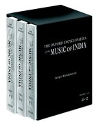 Cover for The Oxford Encyclopedia of the Music of India