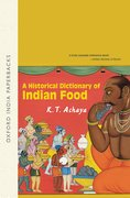 Cover for A Historical Dictionary of Indian Food