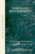 Cover for Water Resource Management