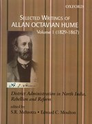 Cover for Selected Writings of Allan Octavian Hume