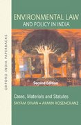 Cover for Environmental Law and Policy in India