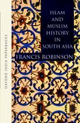 Cover for Islam and Muslim History in South Asia