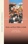 Cover for Parties and Party Politics in India