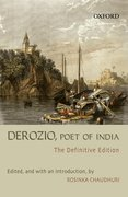 Cover for Derozio, Poet of India