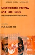 Cover for Development, Poverty, and Fiscal Policy