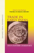Cover for Trade in Early India