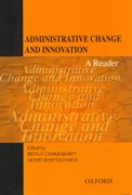 Cover for Administrative Change and Innovation