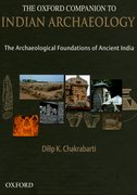 Cover for The Oxford Companion to Indian Archaeology