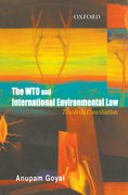 Cover for The WTO and International Environemntal Law
