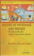 Cover for Politics of Patronage and Protest