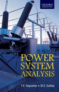 Cover for Power Systems Analysis