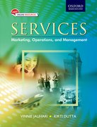 Cover for Services Marketing, Operations, and Managment