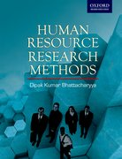 Cover for Human Resource Research Methods