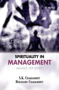 Cover for Spirituality in Management