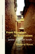 Cover for From Pluralism to Separatism