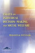 Cover for Essays on Individual Decision Making and Social Welfare
