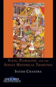 Cover for State, Pluralism, and the Indian Historical Tradition