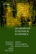 Cover for Deliberative Ecological Economics