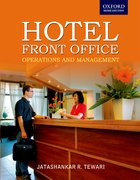 Cover for Hotel Front Office Operations and Management