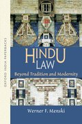 Cover for Hindu Law Beyond Tradition and Modernity