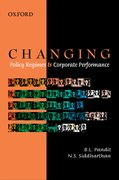 Cover for Changing Policy Regimes and Corporate Performance
