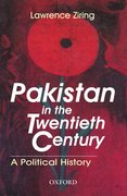 Cover for Pakistan in the Twentieth Century
