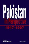 Cover for Pakistan in Perspective, 1947-1997