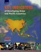 Cover for Key Indicators of Developing Asian and Pacific Countries 2000