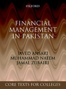 Cover for Financial Management in Pakistan