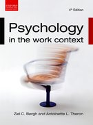 Cover for Psychology in the Work Context