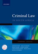 Cover for Criminal Law: A Practical Guide