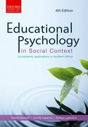 Cover for Educational psychology in social context Ecosystemic applications in southern Africa Educational psychology in social context: Ecosystemic applications in southern Africa 4e
