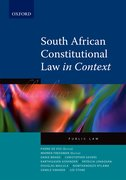 Cover for South African Constitutional Law in Context