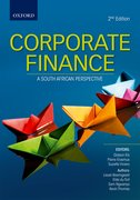 Cover for Corporate Finance: A South African Perspective