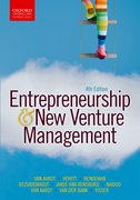 Cover for Entrepreneurship and New Venture Management