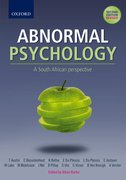 Cover for Abnormal Psychology